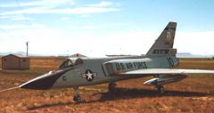 Convair F-106A Delta Dart 59-069, Montana Air National Guard
