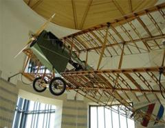 Curtiss JN-4D Jenny (replica) Minnesota History Center