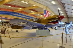 Curtiss P-40E Kittyhawk N95JB/38 War Eagles Air Museum