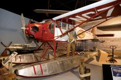 Curtiss Robin C1 floatplane NC753M Lif Co, Cradle of Aviation Museum, Garden City, NY