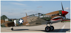 Curtiss-Wright P-40M Warhawk NX1232/00, American Airpower Museum