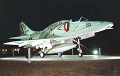 Douglas A-4M Skyhawk 160024/QG-00, Havelock Tourist and Event Center