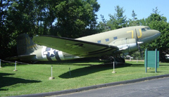 Douglas C-47A-90-DL Skytrain 43-15635, Museum of transportation