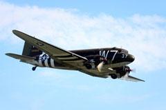 Douglas C-47A Skytrain N345AB/43-30652/W7-R/37, National Warplane Museum