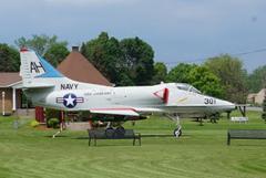 Douglas NA-4E Skyhawk 148613/AH-301,   Oriskany Village Museum, NY