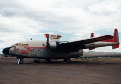 Fairchild C-119G Flying Boxcar N8093/140 here at Greybull, WY