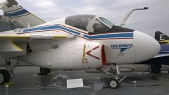 Grumman A-6DSD Intruder 162185 US Navy, Intrepid Sea, Air & Space Museum, New York, NY picture Mike Hodish