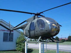 Hughes OH-6A Cayuse 65-12950, Chennault Aviation and Military Museum Monroe, LA