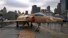 IAI F-21A Kfir 999734 Israeli Defense Force Intrepid Sea, Air & Space Museum, New York, NY picture Mike Hodish