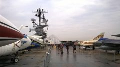 Intrepid Sea, Air & Space Museum, New York, NY picture Mike Hodish