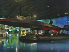 Lockheed SR-71B Blackbird 61-7956 USAF, Air Zoo Aerospace & Science Museum