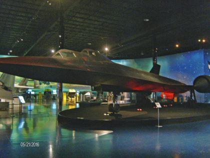 Lockheed SR-71B Blackbird 61-7956 USAF, Air Zoo Aerospace & Science Museum
