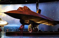 Lockheed SR-71B Blackbird 61-7956, Air Zoo