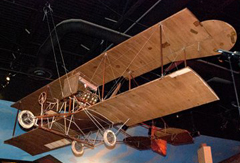 Longren No. 5 Biplane, Kansas Museum of History, Topeka