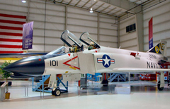McDonnell F-4B Phantom II 152256/NE-101. Wings of Eagles Discovery Center