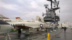 McDonnell F-4N Phantom II 150628 NK-101 US Marines, Intrepid Sea, Air & Space Museum, New York, NY picture Mike Hodish