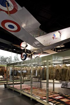 Nieuport 12 (replica) National World War I Museum and Memorial, Kansas City, MO USA