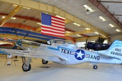 North American TF-51D Mustang N51TF/44-84658 War Eagles Air Museum