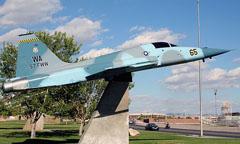 Northrop F-5E Tiger II 74-1571/WA-65 Freedom Park Nellis AFB, NV