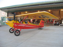 Pietenpol B4-A Aircamper N12724, Musselshell Valley Historical Museum
