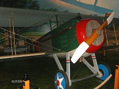 SPAD VII (replica) N9104A 4 French Air Force, Air Zoo Aerospace & Science Museum
