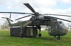 Sikorsky CH-54A Tarbe 68-18439, Museum of the Kansas National Guard