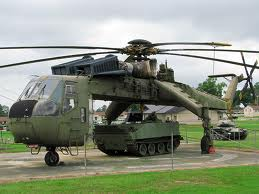 Sikorsky CH-54A Tarhe 66-18412, Mississippi Armed Forces Museum