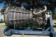 Space Shuttle Main Engine, INFINITY Science Center