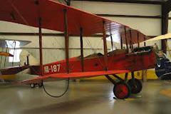 Standard J-1 With Hisso V-8 187/J Historic Aircraft Restoration Museum