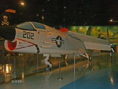 Vought F-8J Crusader 150904 AH-202 US Navy, Air Zoo Aerospace & Science Museum