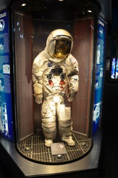 Apollo 12 space suit of Charles Pete Conrad Jr. Space Center Houston, TX