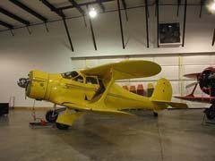 Beech D17S Staggerwing N35JM, Beechcraft Heritage Museum