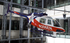 Bell 206B JetRanger II N206EN, Newseum Washington, DC