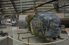 Bell 47G-3B-1 Sioux A1-640 Australian Army, Fleet Air Arm Museum, Nowra Hill NSW