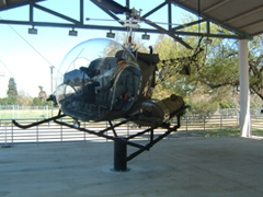 Bell OH-13D Sioux 51-2456, United States Army Medical Department Museum