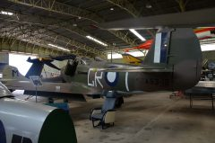 Bell P-39E Airacobra A53-13/GR-T RAAF, Classic Jets Fighter Museum