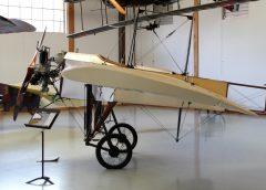 Bleriot XI (replica), Military Aviation Museum, Virginia Beach, VA