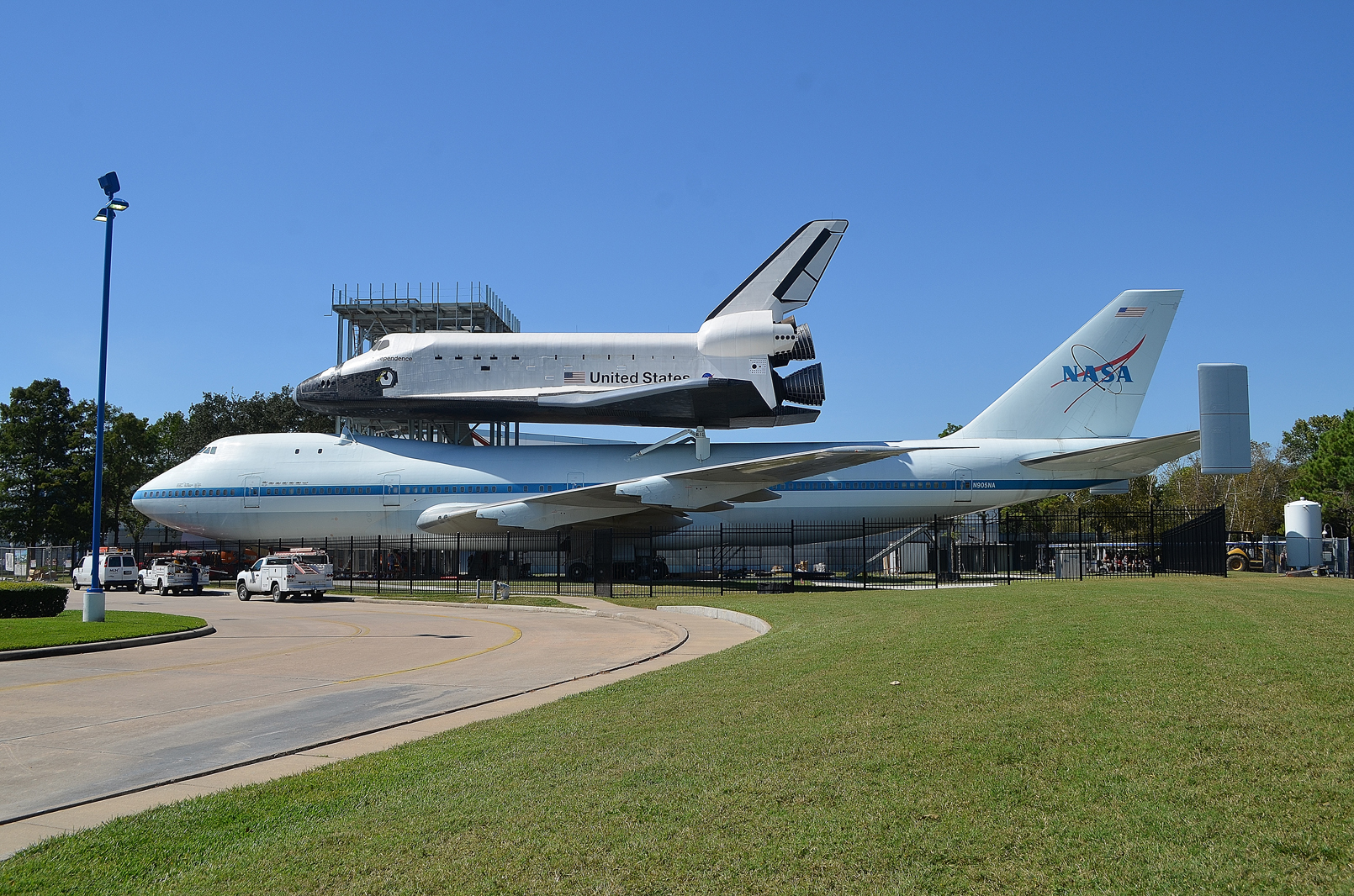 space shuttle landing in houston - photo #6