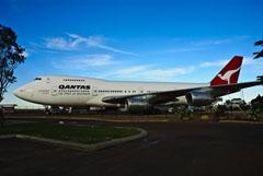 Boeing 747-238B VH-EBQ, Qantas Founders Museum