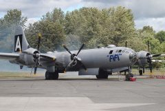 "Boeing B-29A Superfortress N529B/44-62070/A ""FiFi"" USAAF picture Les Spearman"
