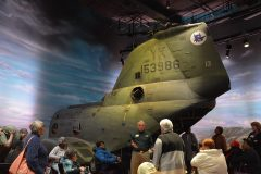 Boeing CH-46D Chinook 153986/YK-13 USMC, National Museum of the Marine Corps
