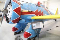 Boeing P-26D Peashooter (replica) N26PX/32-06/6 US Army Air Corps, Military Aviation Museum, Virginia Beach, VA