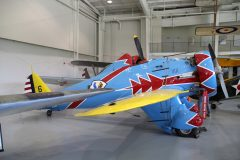 Boeing P-26D Peashooter (replica) N26PX/32-06/6 US Army Air Corps,