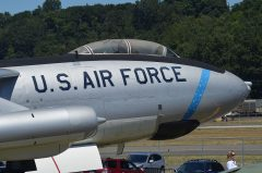 Boeing WB-47E Stratojet 51-7066 USAF, The Museum of Flight Seattle-Boeing Field, WA USA | Les Spearman