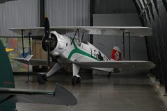 Bucker Bu-133C Jungmeister N38BU/LG+01 Luftwaffe, Military Aviation Museum, Virginia Beach, VA