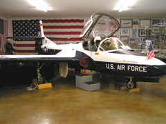 Cessna T-37B Tweety Bird 59-0361/EN, Perrin Air Force Base Historical Museum