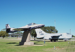 Cessna T-37B Tweety Bird and Vought A-7D Corsair II, Highland Lakes Squadron- Commemorative Air Force