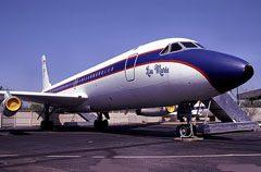 """Convair 880 """"Lisa Marie"""" N880EP Graceland"""