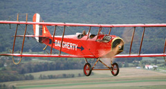 Curtiss JN-4D Jenny N2946, Golden Age Air Museum