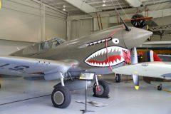 Curtiss P-40E Warhawk N1941P/108 USAAF, Military Aviation Museum, Virginia Beach, VA